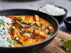 Indian tofu tikka masala