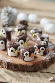 Marsmallow penguins