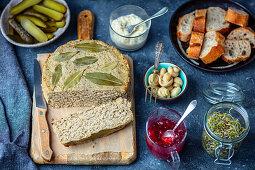 Turkey and lentil pate