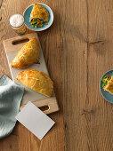 Cornish Pasty from Cornwell (hand pie)