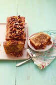 Espresso nut loaf cake