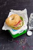 Vegan Tempeh Tuna Sandwich To Go