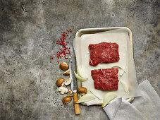 Bavette steaks
