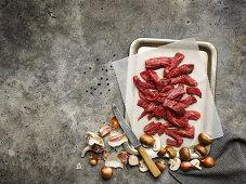 Beef fillet Stroganoff