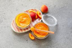 Apricot jam (sugar-free)