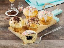 'Doughnut' muffins