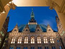 Town Hall, Hanseatic City of Hamburg, Germany