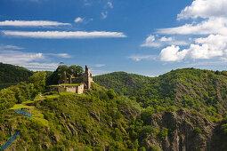 Burg Are, Altenahr, Ahrsteig, Rotweinwanderweg, Ahr, Rheinland-Pfalz, Deutschland