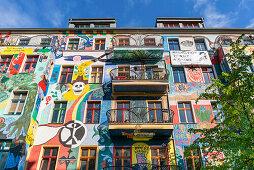 Wandmalerei, Friedrichshain, Berlin