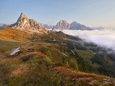 Tofana di Rozes, Veneto, Italy Monte Nuvolau, Passo di Giau, Veneto, Italy