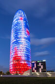 Torre Agbar by Jean Nouvel, Barcelona