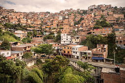Slums of Medellin, Departmento Antioquia, Colombia, Southamerica