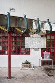 Förderband, Hacienda Venecia bei Manizales, UNESCO Welterbe Kaffee Dreieck (Zona Cafatera), Departmento Caldas, Kolumbien, Südamerika