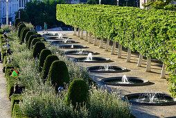 Parc Mont des Arts, ein Garten am Rande der Altstadt, Brüssel, Bruxelles, Brussel, Belgien, Benelux