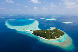Ferieninsel Villivaru, Sued Male Atoll, Indischer Ozean, Malediven