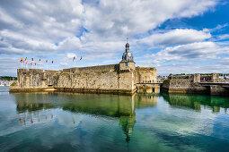 Die Ville Close von Concarneau, Bretagne, Frankreich, Europa