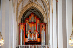 Main organ; West gallery; Munich Cathedral; Munich Cathedral; Woman Church; Cathedral to Our Lady; Cathedral of the Archdiocese of Munich and Freising