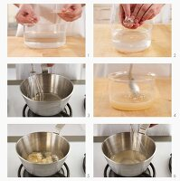 Preparing gelatine