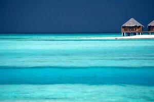 Lagune, Meerblick, Insel Veliganduhuraa, Malediven