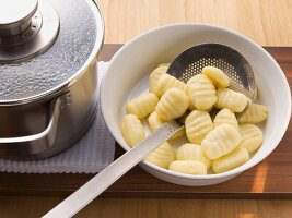 Cooked gnocchi