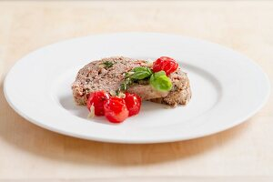 Mediterranean-style meat loaf