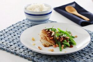 Pad Thai chicken breast with rice
