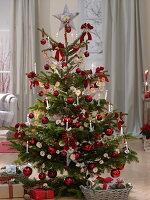 Selbstgemachter Schmuck für weihnachtliche Zimmer