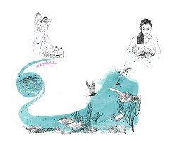 Symbolbild für Umweltverschmutzung durch Mikroplastik (Illustration)