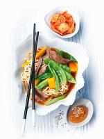 Duck and leek stew (Korea)