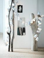 DIY-Lichterkette aus Pappbechern