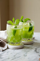 Cucumber Lime Cocktail