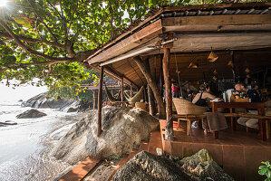 Restaurant am Meer, Koh Phangan, Thailand