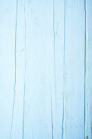 Hellblaue Holzfläche
