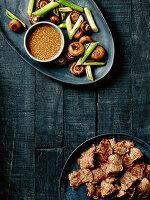 Yakiniku - Japanisches Grillfleisch mit Dip