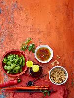 'Hot and Spicy' Zutaten für asiatisches Grillen