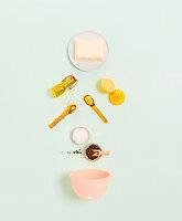 Zutaten für vegane Mayo aus Seidentofu (eifrei)