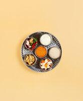 Zutaten in der indischen Küche für Vegetarier