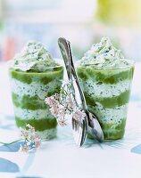 asparagus and coriander cappuccino