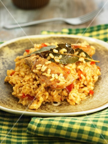 Rice with rabbit (Spain)