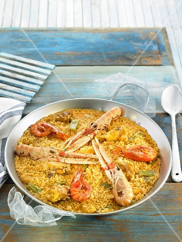 Paella mixta (Spain)