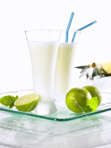 Pineapple and coconut shake