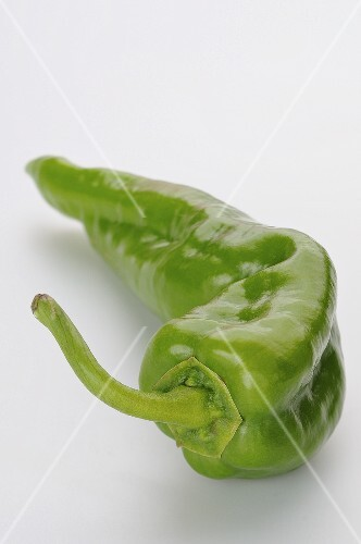 A green chili pepper