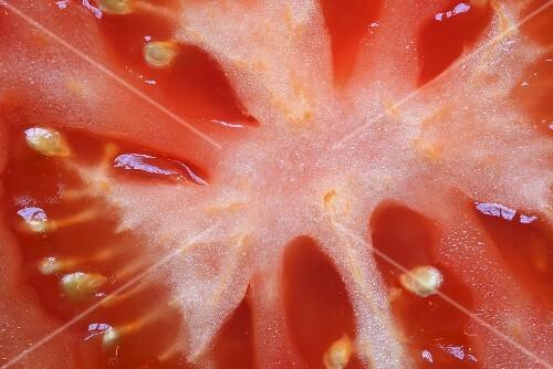 A sliced tomato (detail)