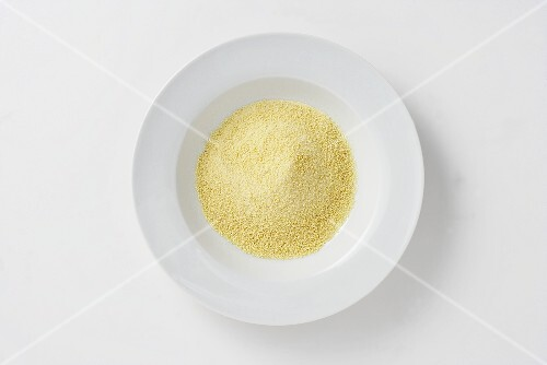 A plate of breadcrumbs