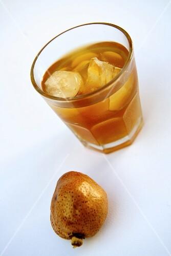 Palm juice from the Egyptian Doum palm (Hyphaene thebaica)