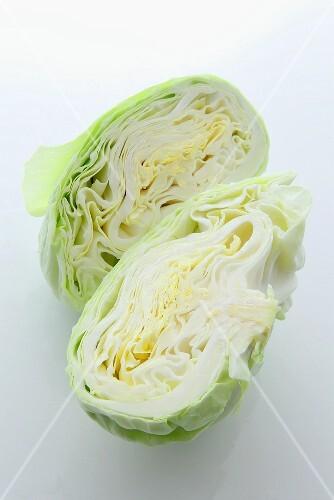 Half a white cabbage