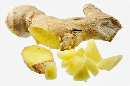Ginger with small pieces