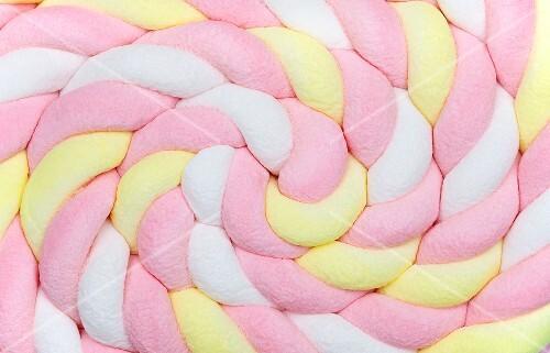 Rolled marshmallow braid