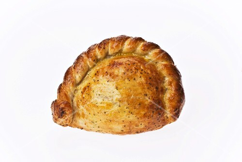 A whole chicken and leek pie