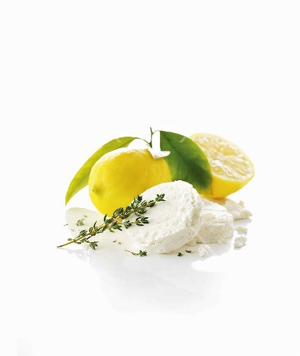 Goat cheese, thyme and lemons